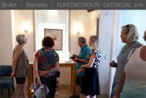Kunstfietsroute Castricum expo BioArt Nicole Spit