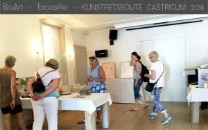 Kunstfietsroute Castricum met BioArt van Nicole Spit