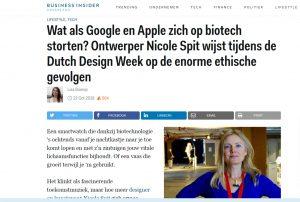 NeoBio DDW2018 in Business Insider